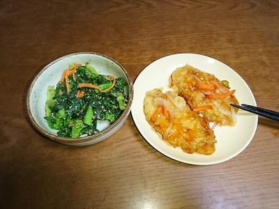 白身魚甘酢餡かけ.JPG