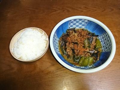 茄子とピーマンの味噌炒め.JPG