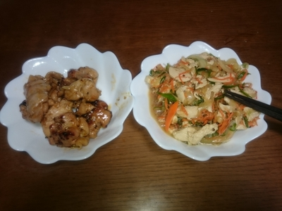 鶏肉サラダ他.JPG