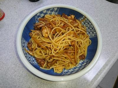 鶏牛蒡スパゲティ2.JPG